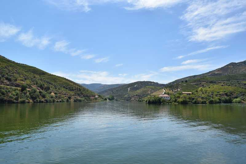 Douro River with its incredible vineyards